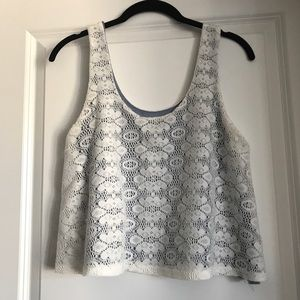 Lacey cropped top S